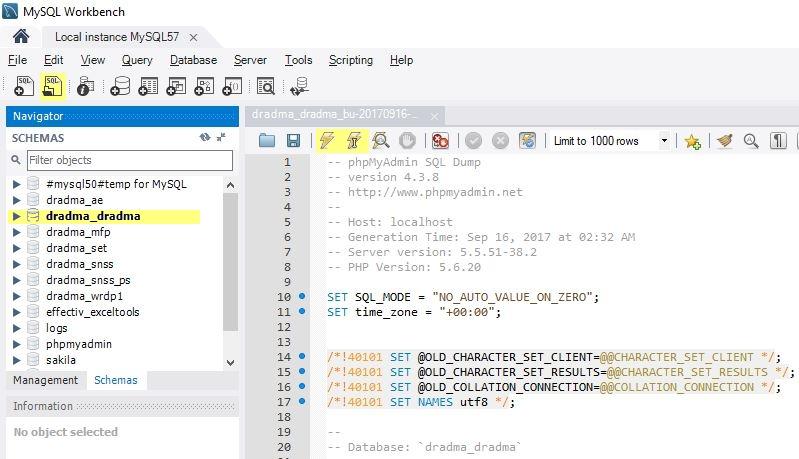 WordPress – Steps to import MySQL DB from online host to localhost